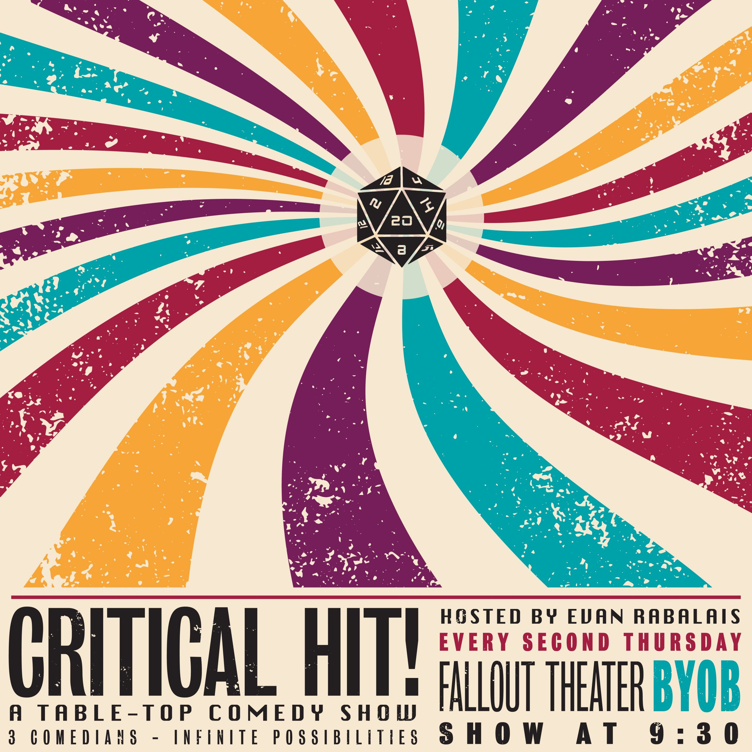 Critical Hit: A Tabletop Comedy Show